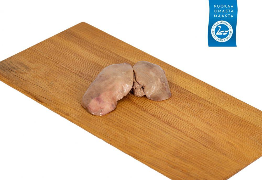 Hauhalan hanhifarmi - Hauhalan hanhen keskivaalea maksa