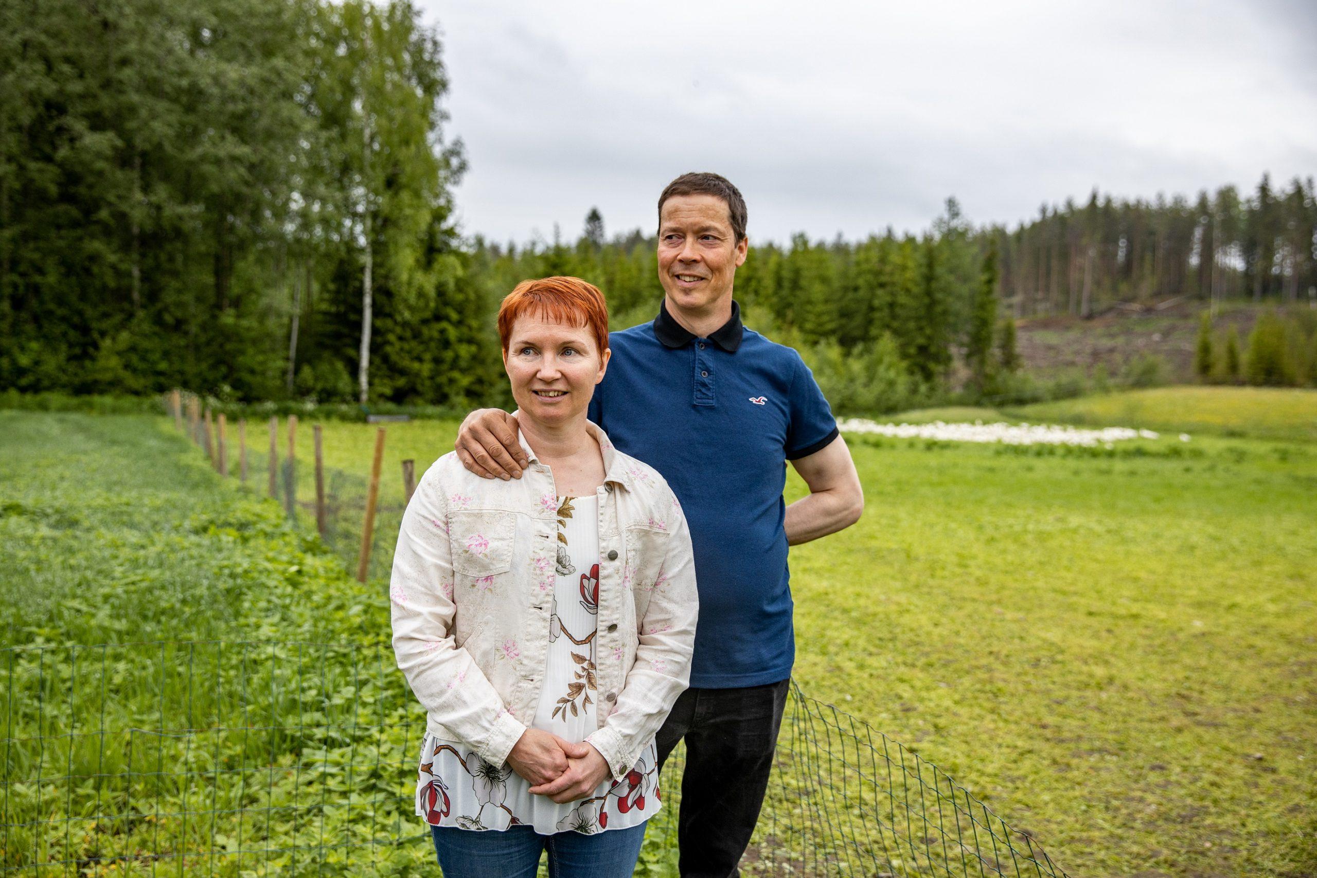 Hauhalan hanhifarmi - Virpi ja Antti Rantalainen