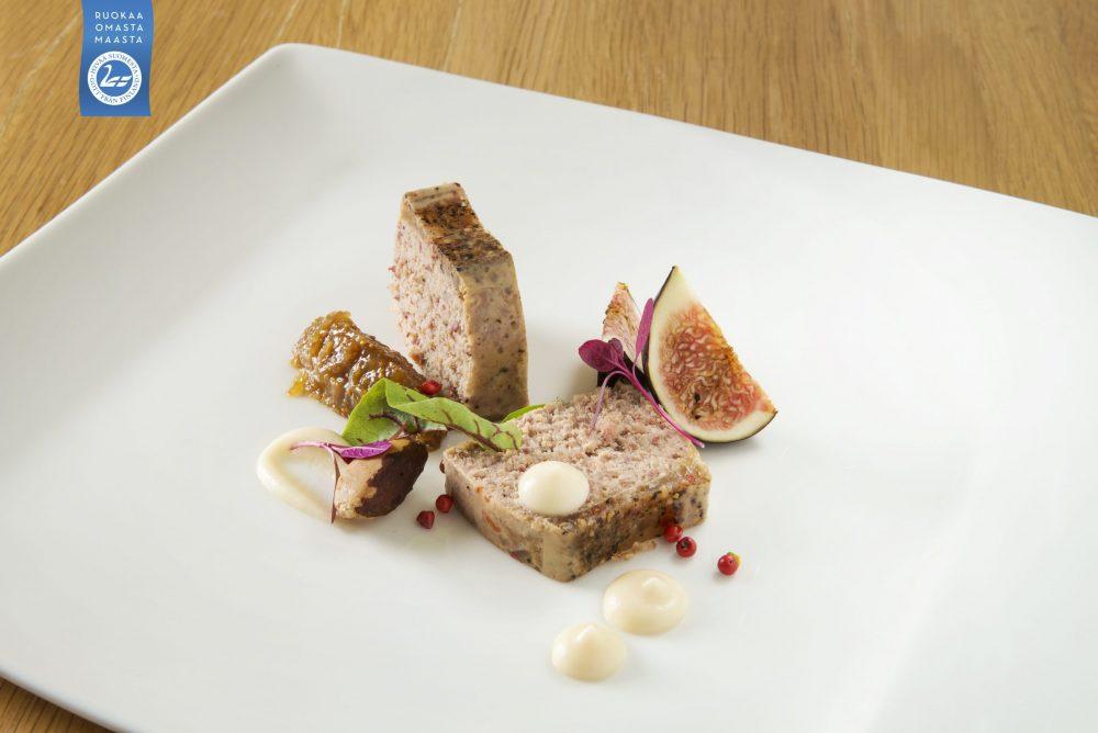 Hauhalan hanhifarmi - Perinteinen hanhipatee