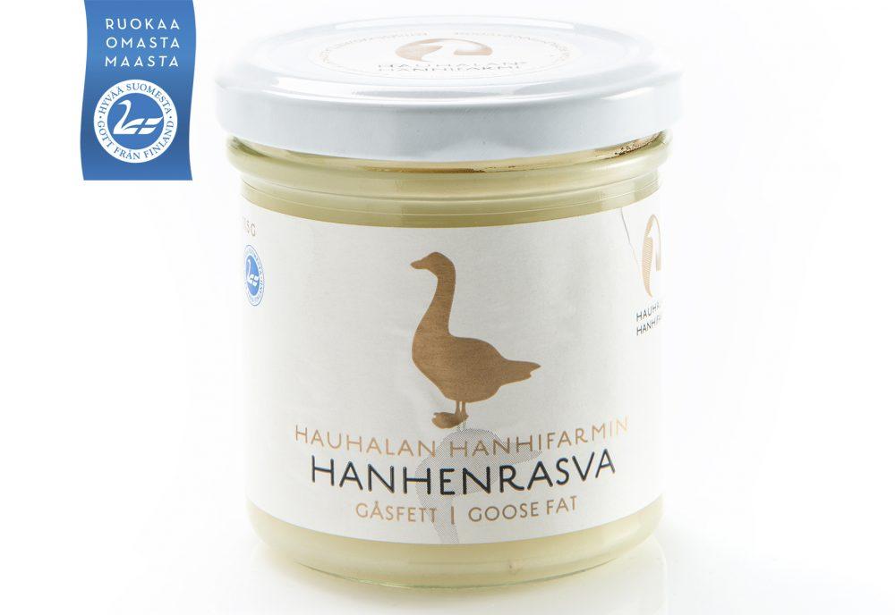 Hauhalan hanhifarmi - hanhenrasva