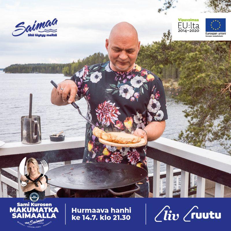 Sami Kurosen makumatka Saimaalla - Isännän lettuja Hauhalan Hanhifarmin hanhenmunista, kuusenhavuvaahtoa ja mansikoita